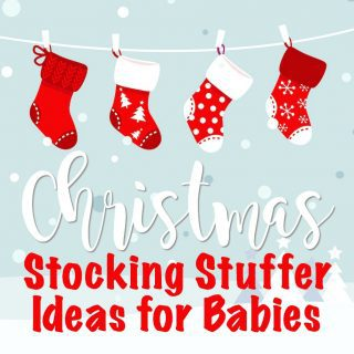 Stocking Stuffer Ideas for Baby's First Christmas