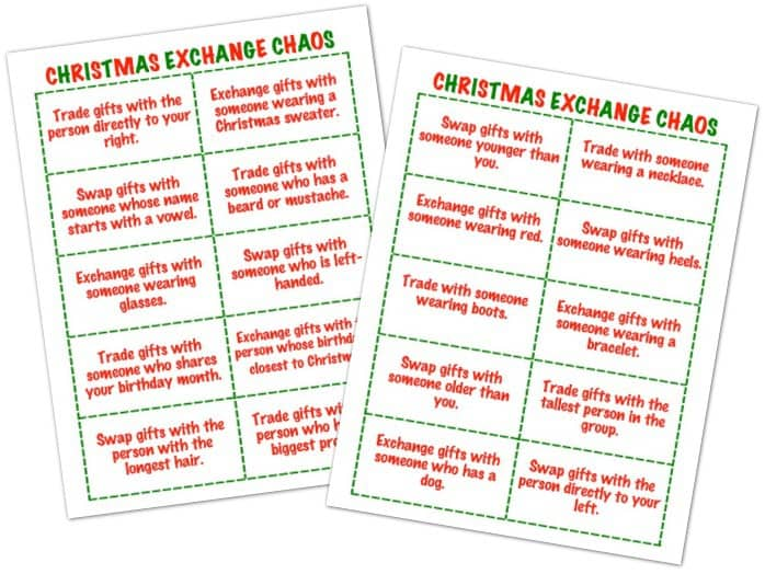 5 Awesome Holiday Gift Exchange Games to Play - Happy-Go-Lucky