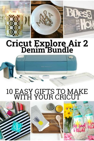 Easy Gifts to make with your Cricut