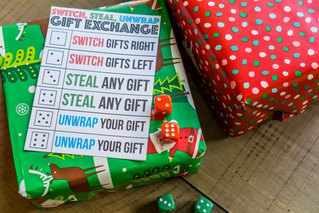 Fun Gift Exchange Games