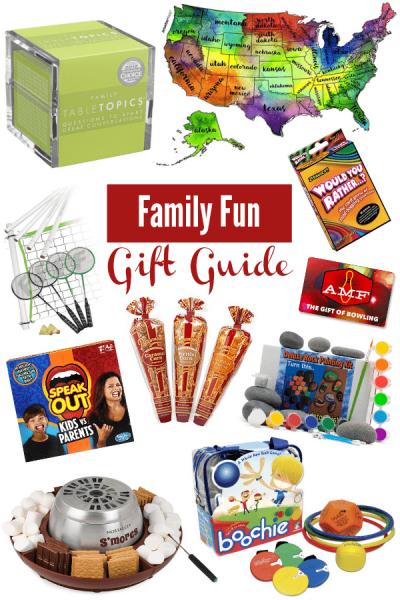 Family Fun Gift Guide