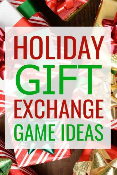 Holiday Gift Exchange Game Ideas