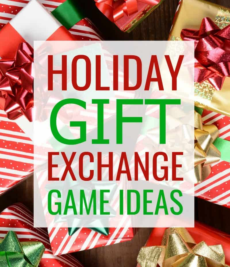 5 fun and festive Holiday Gift Exchange Game Ideas