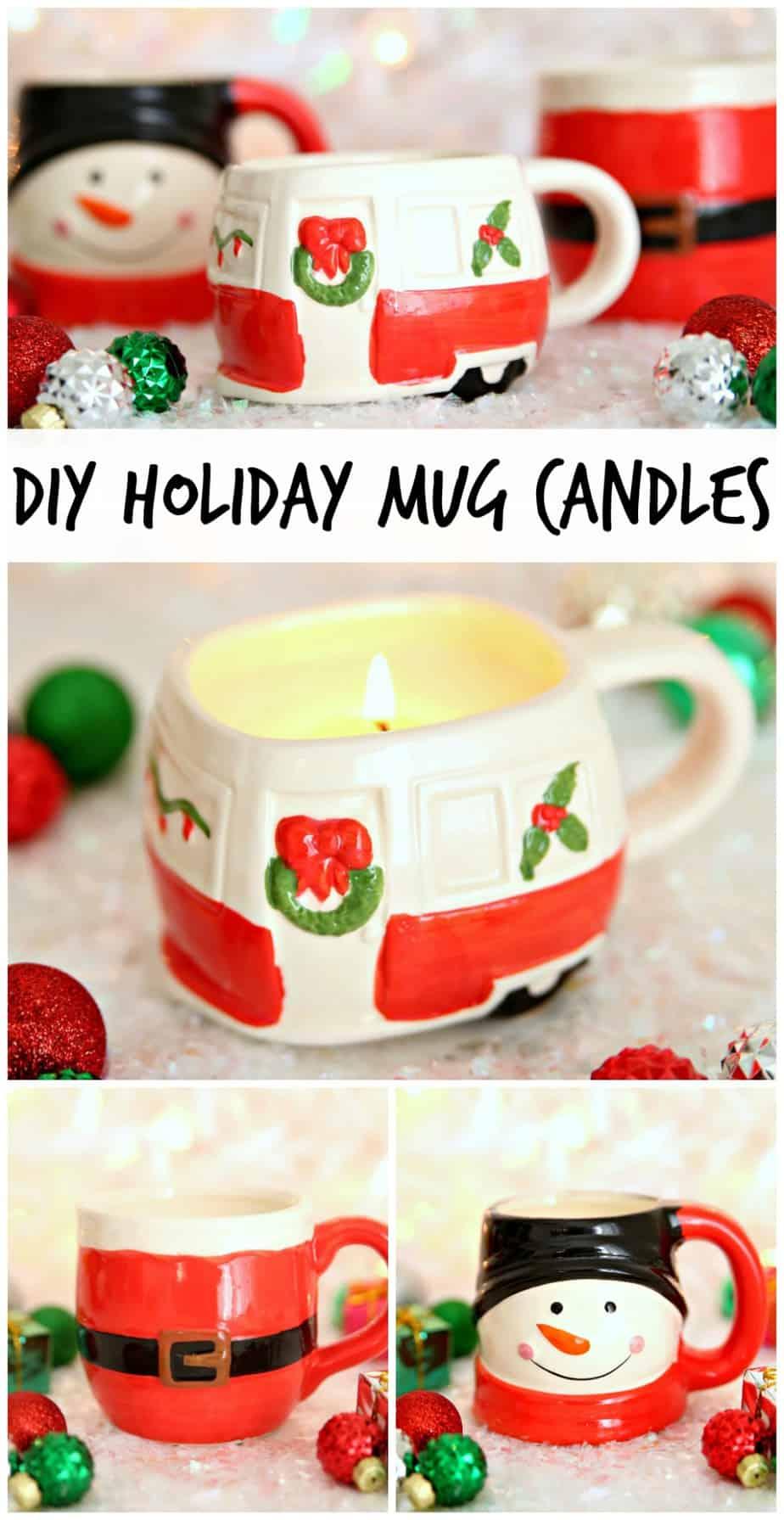 Turn Dollar Store Mugs Into The Cutest Mug Candles