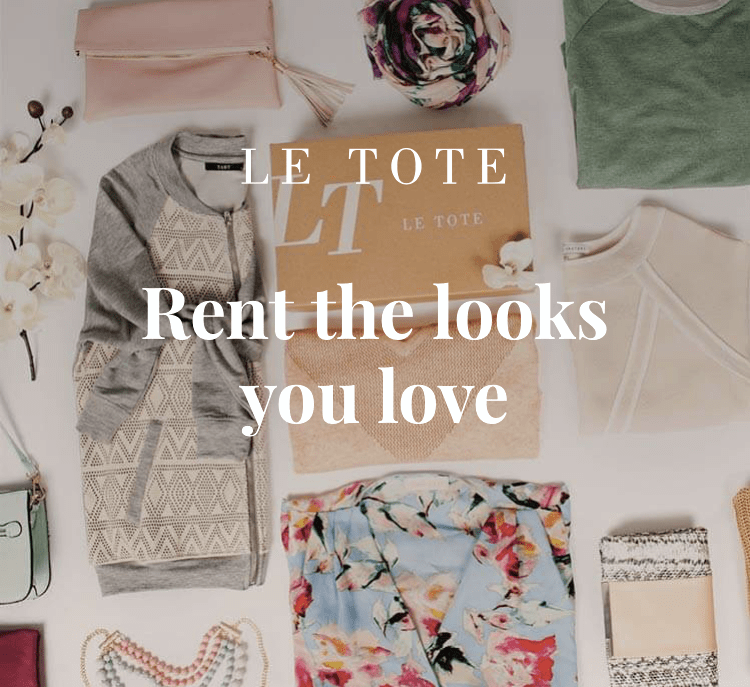 Le Tote Unique Gift Idea