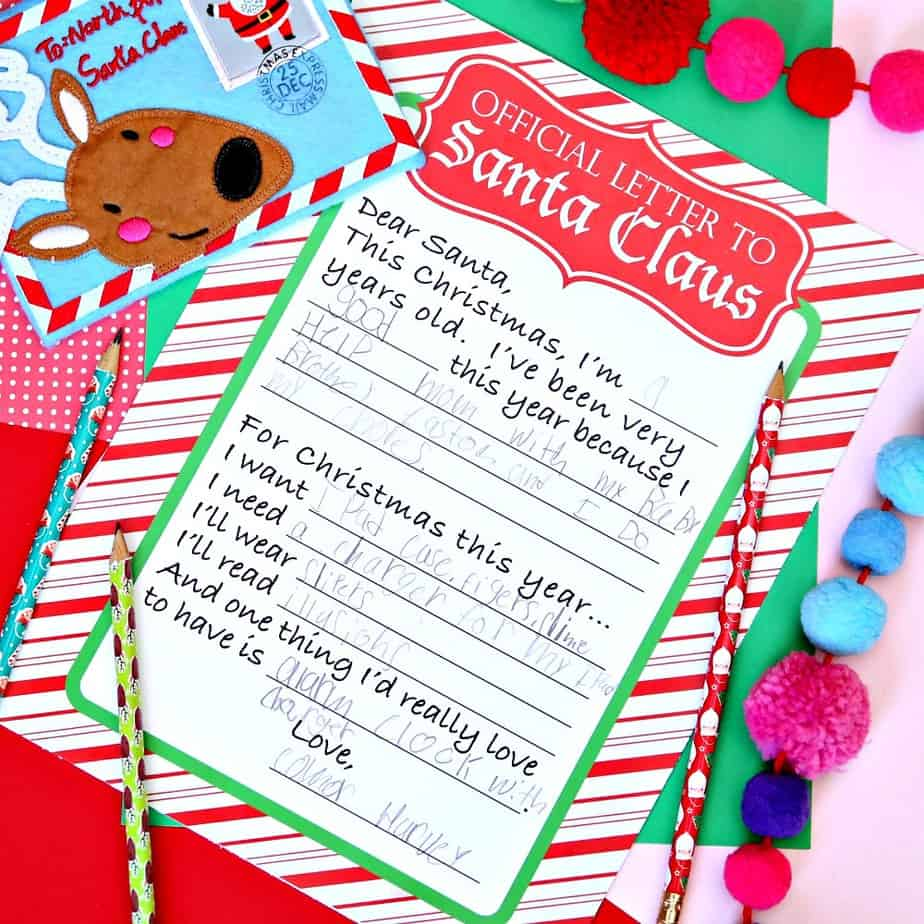 Official Letter to Santa