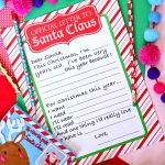 Official Letter to Santa Claus Free Printable