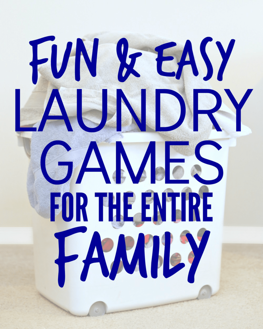 Laundry Games for the Entire Family