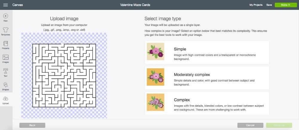 Step 3: Upload Maze And Insert Into Canvas.