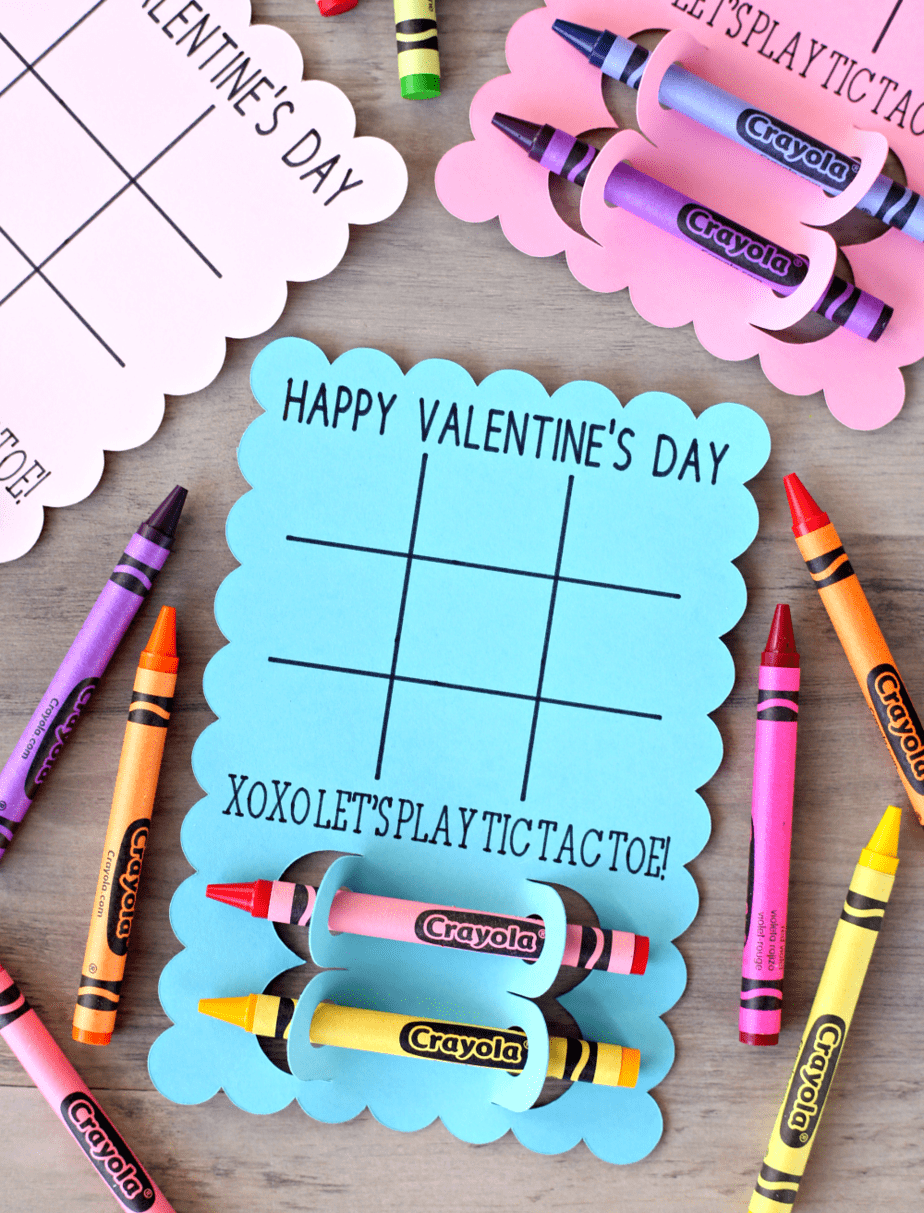 Valentine Tic Tac Toe Cards