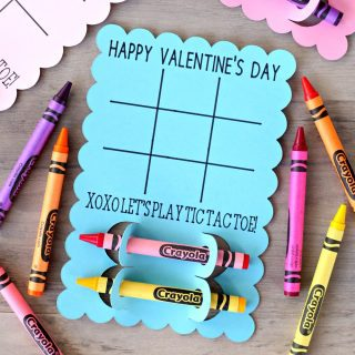 Tic Tac Toe Valentine's Day Cards
