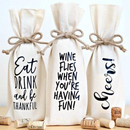 Wine Bottle Gift Bags