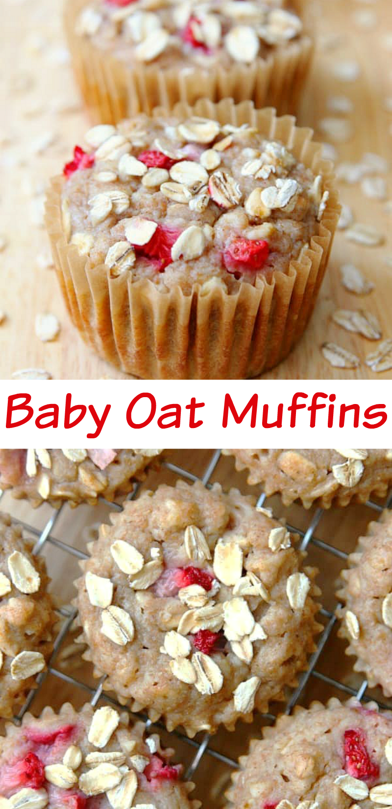 Baby Oat Muffins