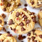 Chocolate Pecan Banana Oatmeal Blender Muffins