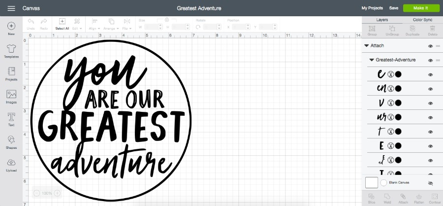 Greatest Adventure SVG Cut File