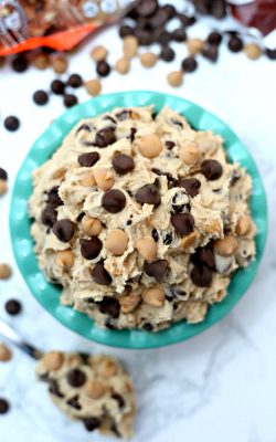 Edible Peanut Butter Chocolate Cookie Dough