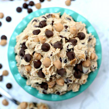 Edible Peanut Butter Chocolate Cookie Dough