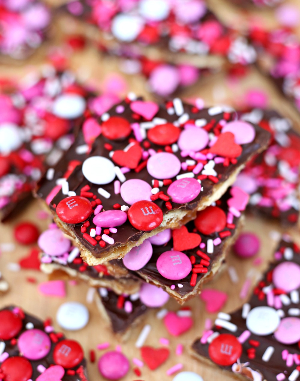 Saltine Chocolate Toffee Bark