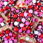 Valentine's Day Saltine Toffee Bark