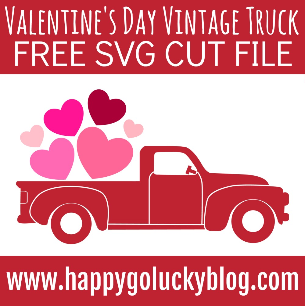 Valentine S Day Vintage Truck Sign