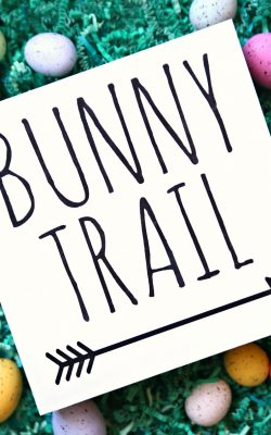 Bunny Trail Free SVG Cut File