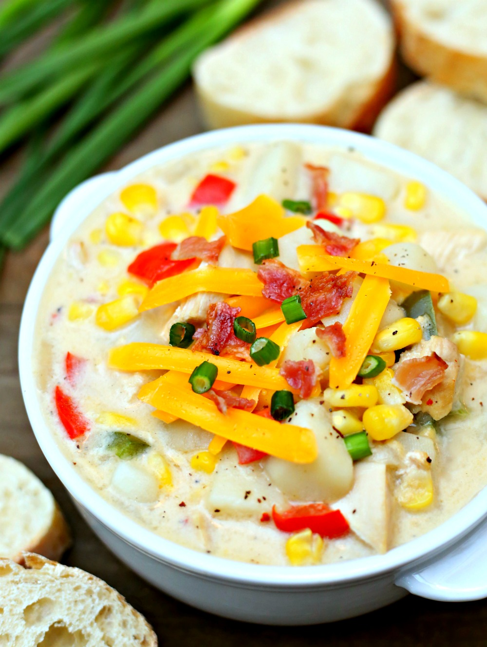 Loaded Corn Chowder Recipe
