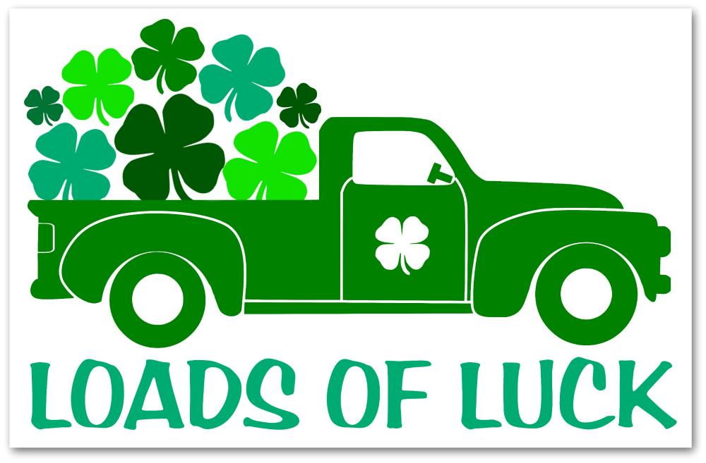 Loads of Luck Truck Sign