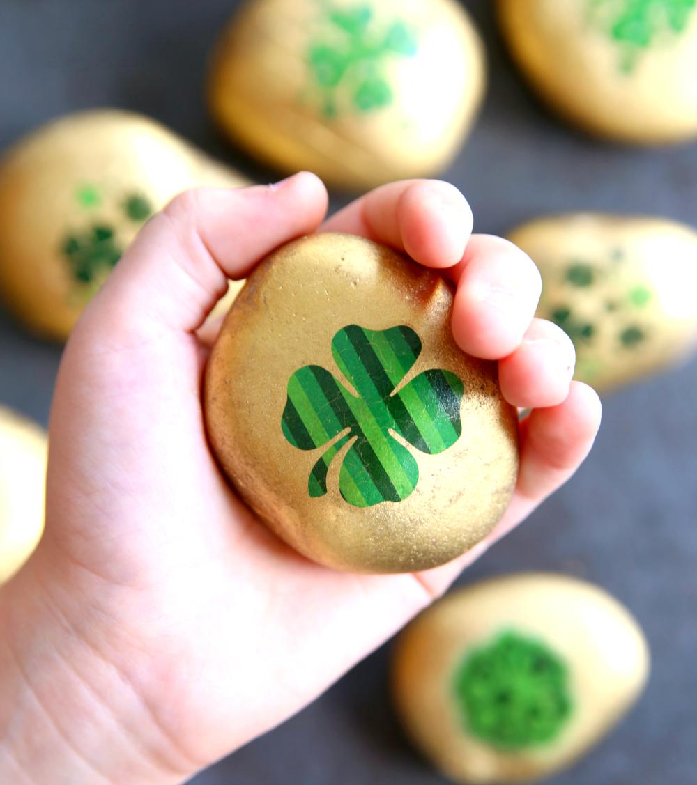 Kindness Rocks for St. Patrick's Day