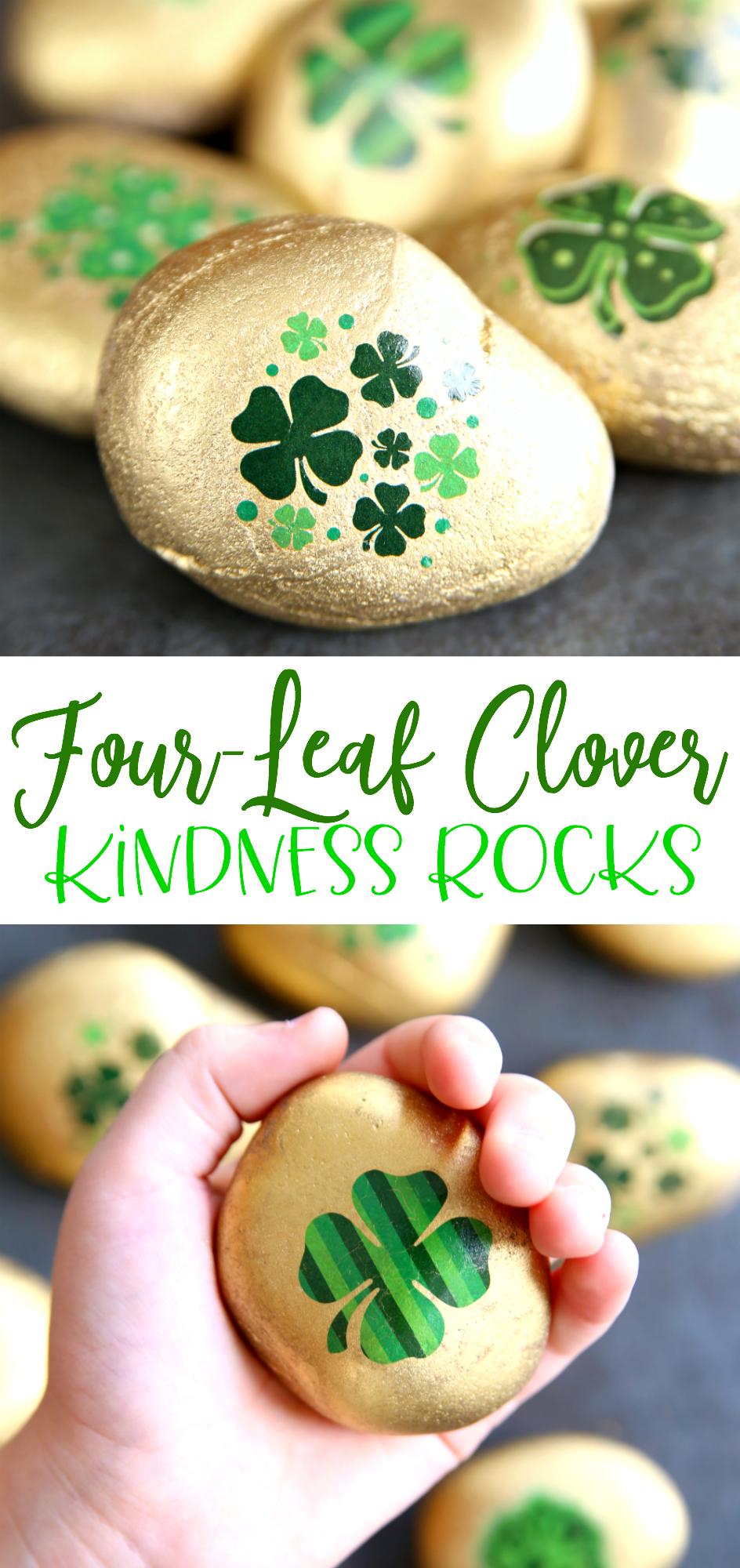 St. Patrick's Day Kindness Rocks