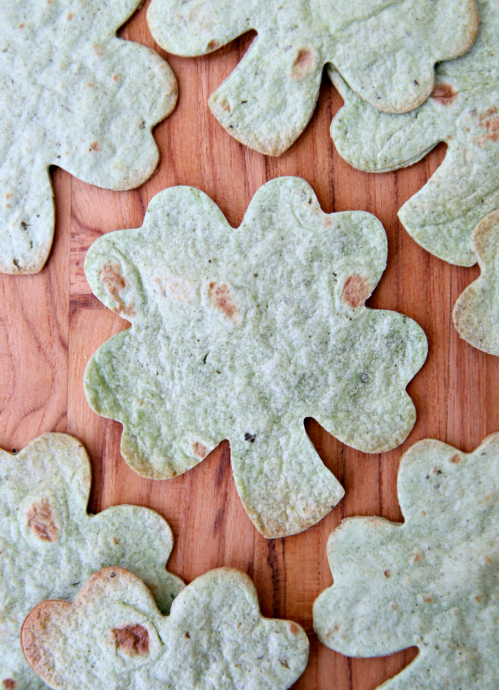 Shamrock Tortillas - Easy St. Patrick's Day Appetizers