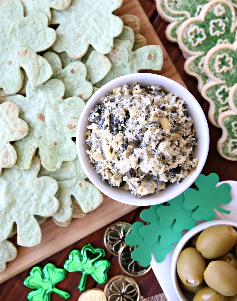 Spinach Dip - Easy St. Patrick's Day Appetizers
