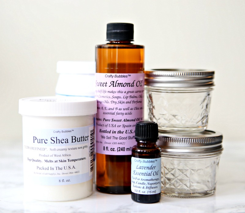Whipped Body Butter Supplies