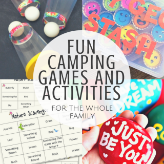 Fun Camping Games and Activities for the whole family