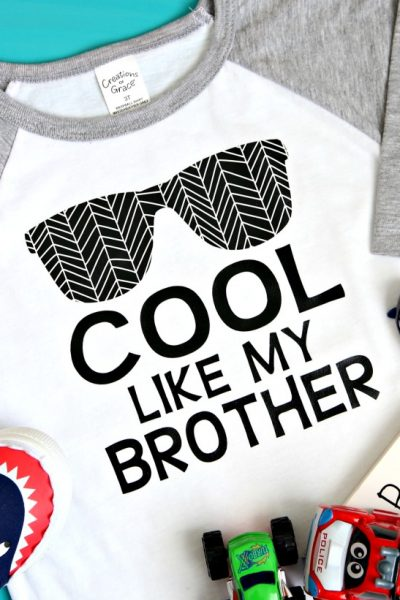 Cool Like My Brother Made With Cricut T-Shirt
