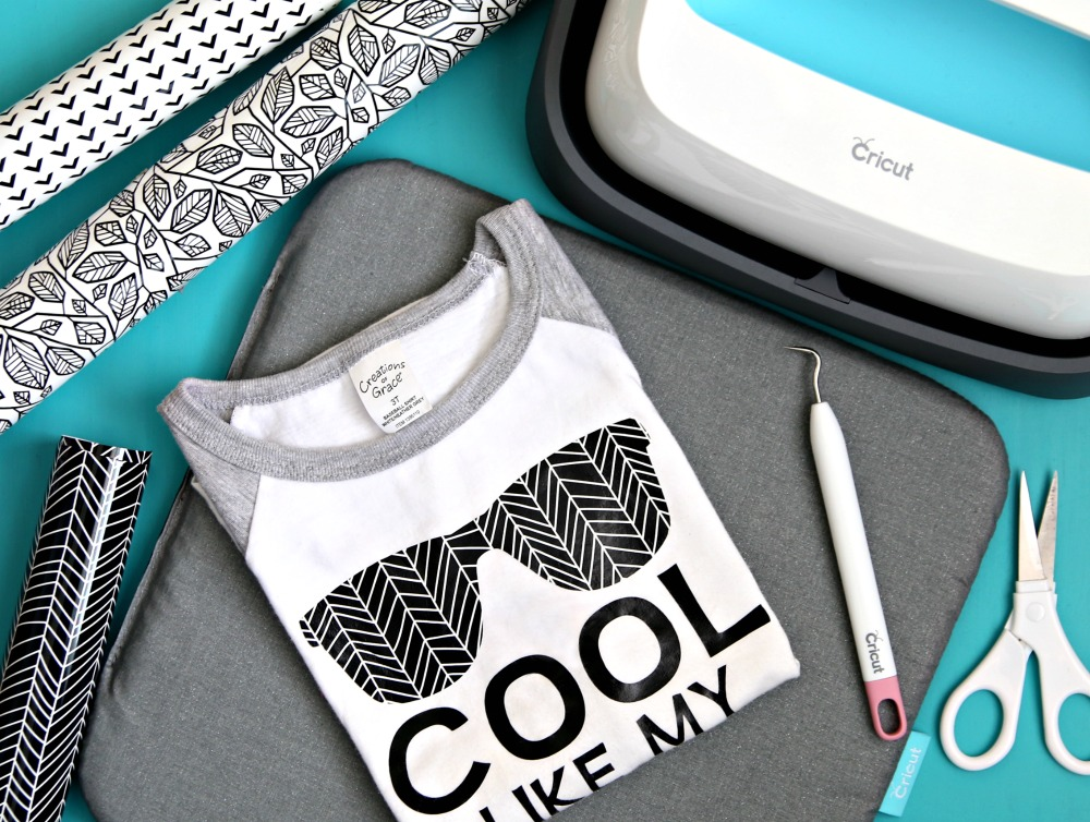 Cricut Patterned Iron On and EasyPress