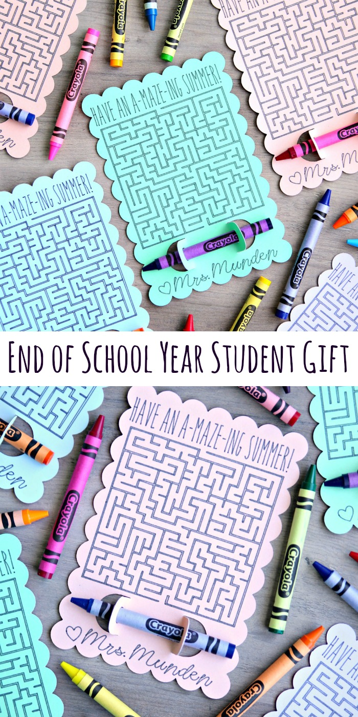 End of School Year Student Gift