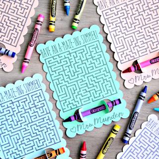 Have an A-Maze-ing Summer Maze Cards!