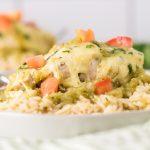 Baked Salsa Verde Chicken 5 Ingredient Dinner Recipe