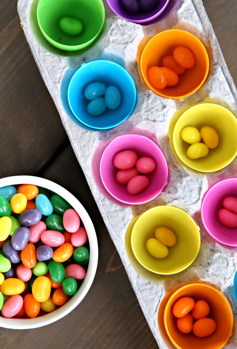 Sorting Jelly Beans Toddler Game