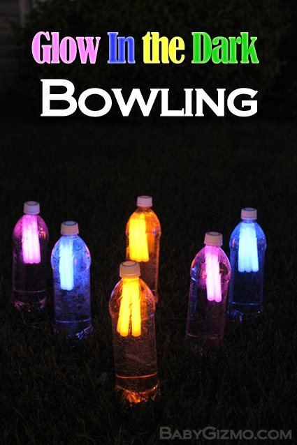 Camping Games Glow in the Dark Bowling