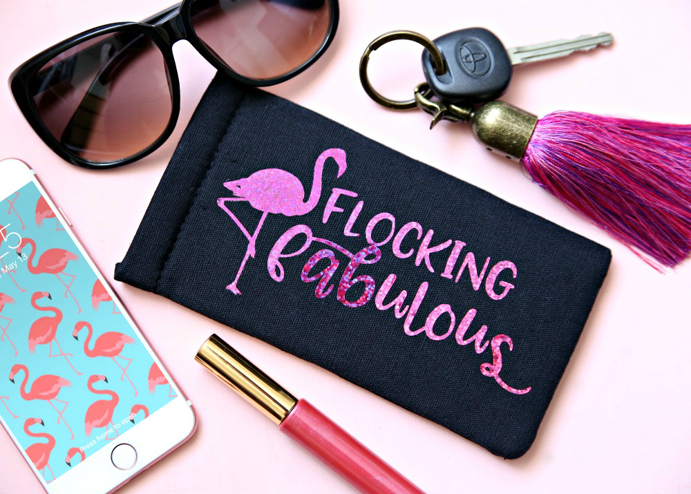 Download Flocking Fabulous Flamingo Free SVG Cut File - Happy-Go-Lucky