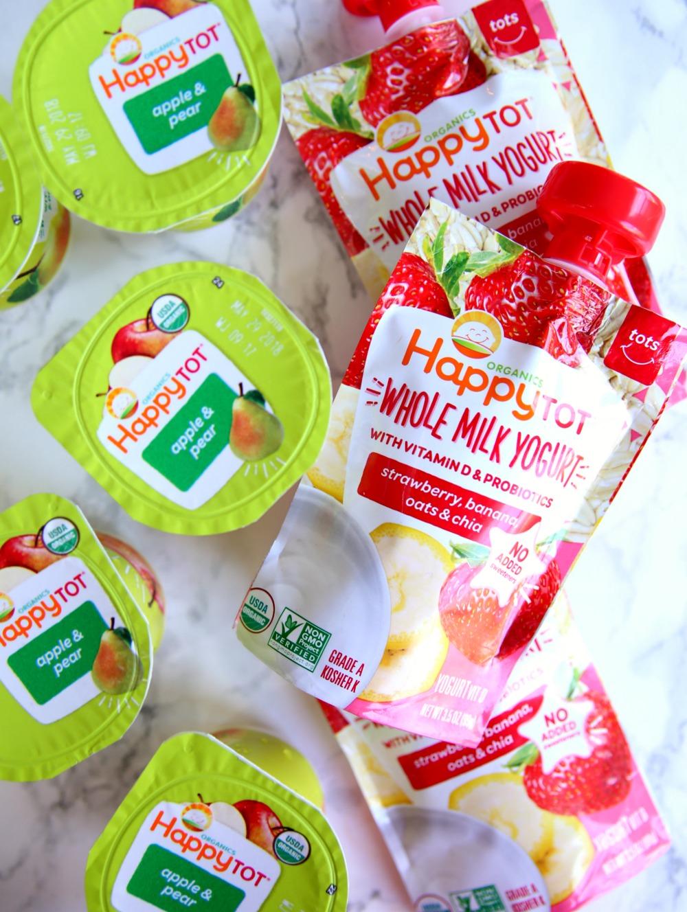 Happy Tot Yogurt Toddler Snack