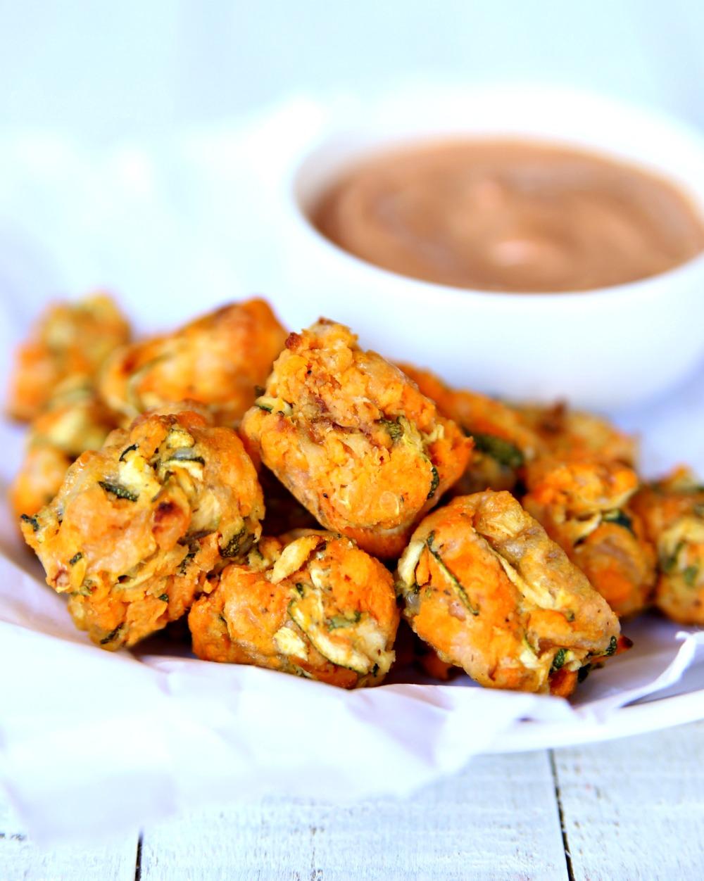 Sweet Potato Zucchini Tots Recipe
