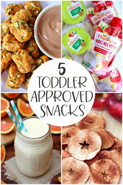 toddler approved snacks