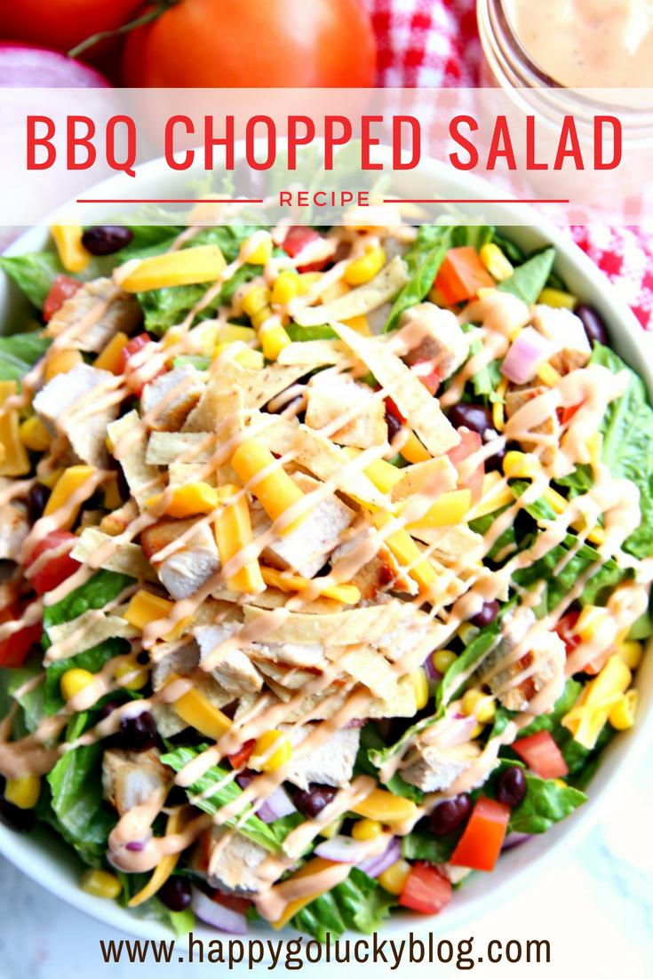 BBQ Chopped Salad