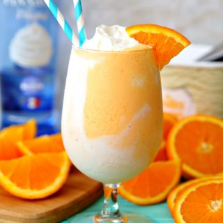Boozy Orange Creamsicle Float