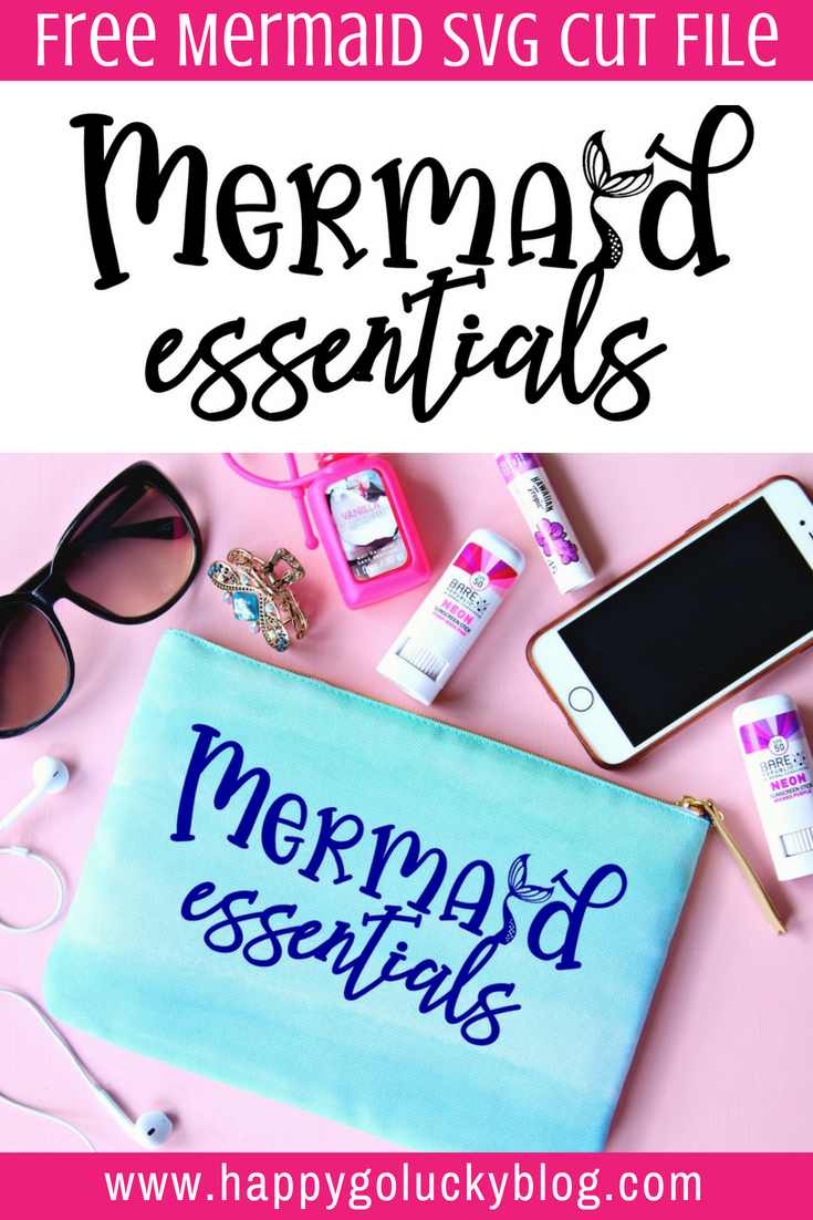 Free Mermaid SVG Cut File Mermaid Essentials SVG Cut File