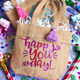Create Custom Birthday Gift Bags in Minutes