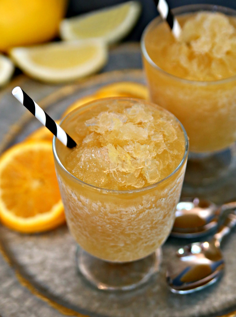Stay cool this summer with bourbon slush!