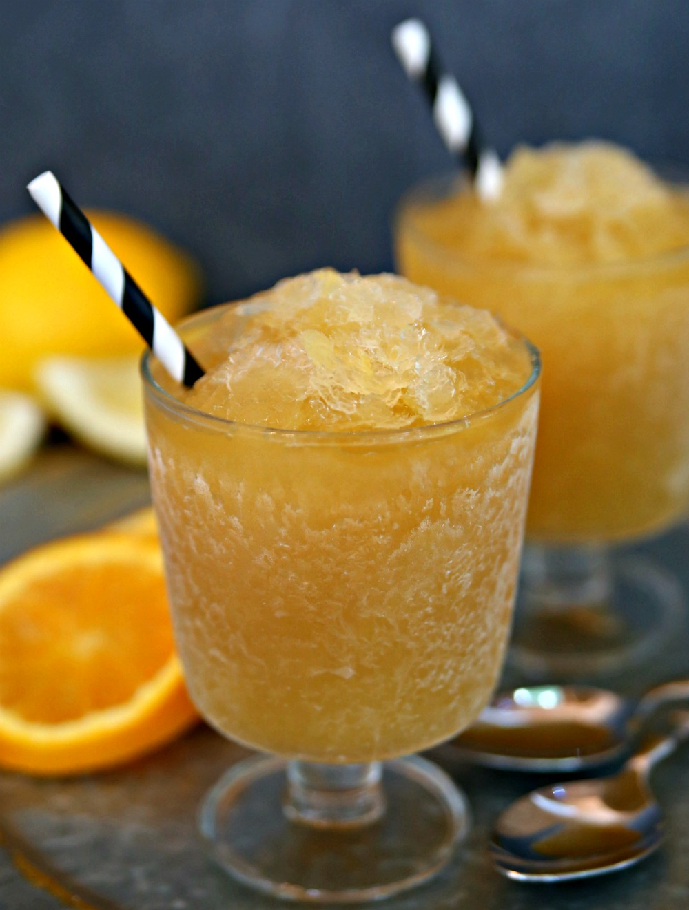 This bourbon slush recipe is the perfect summer cocktail! Stay cool this summer with bourbon slush!